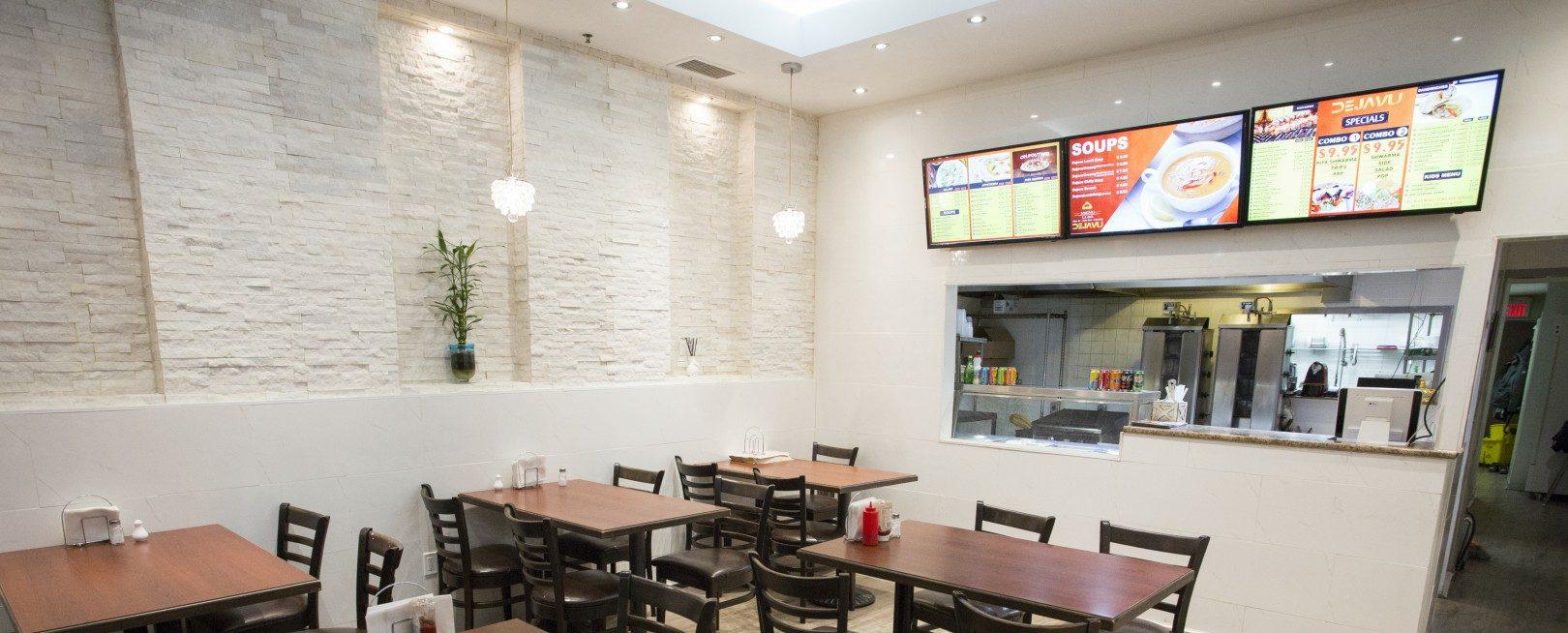 dejavu-shawarma-falafel menu